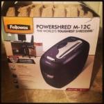 Fellowes PowerShred M-12C Review