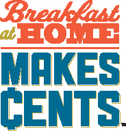 Breakfast at Home Savings Challenge