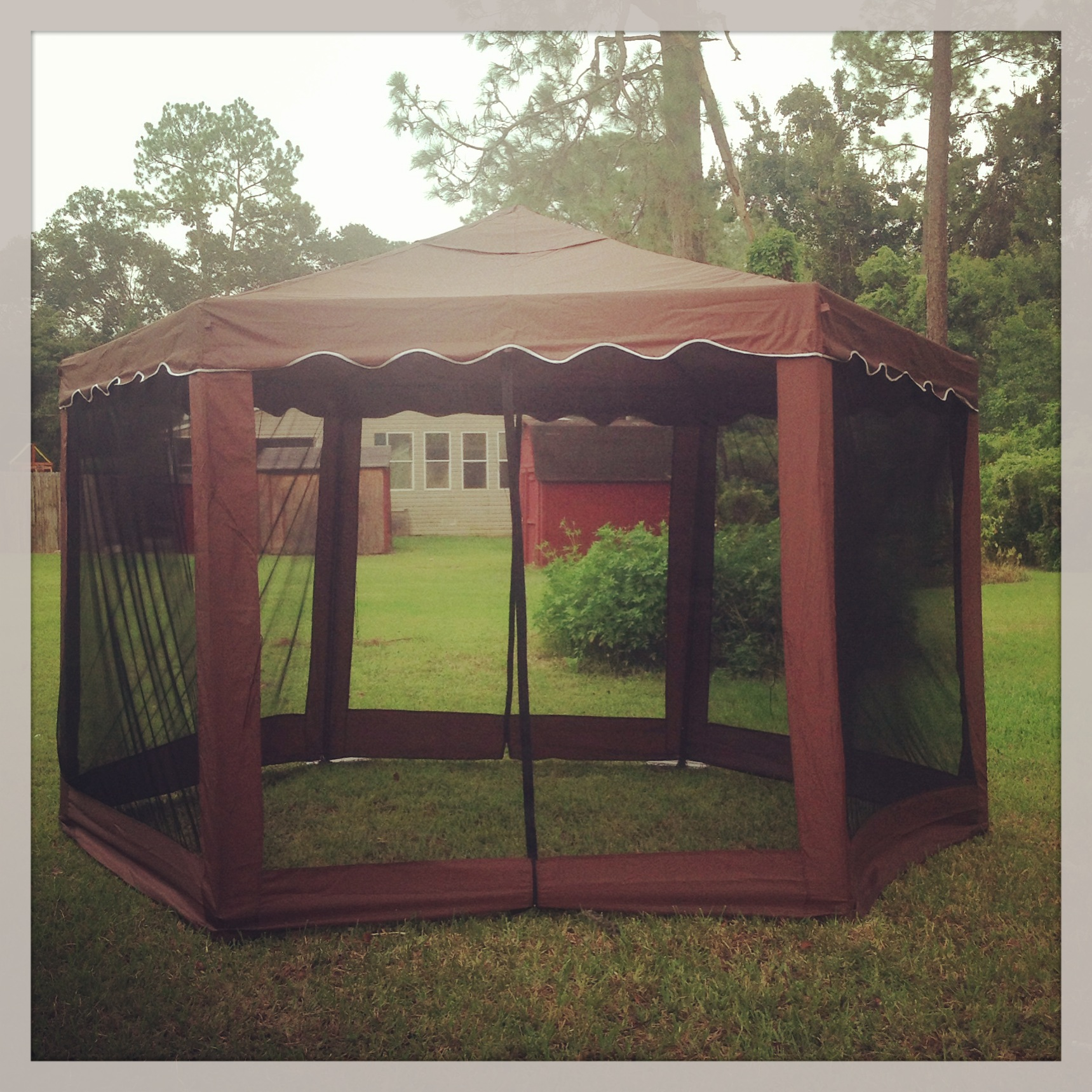 Brylane Home Hexagon Gazebo