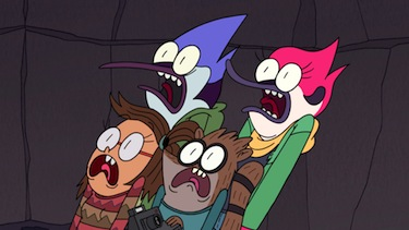 Regular Show - Fright Pack Review