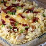 CHICKEN BACON RANCH MAC AND CHEESE
