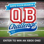 NCAA Save Your Season QB Challenge