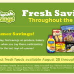 Fresh Summer Savings At Publix