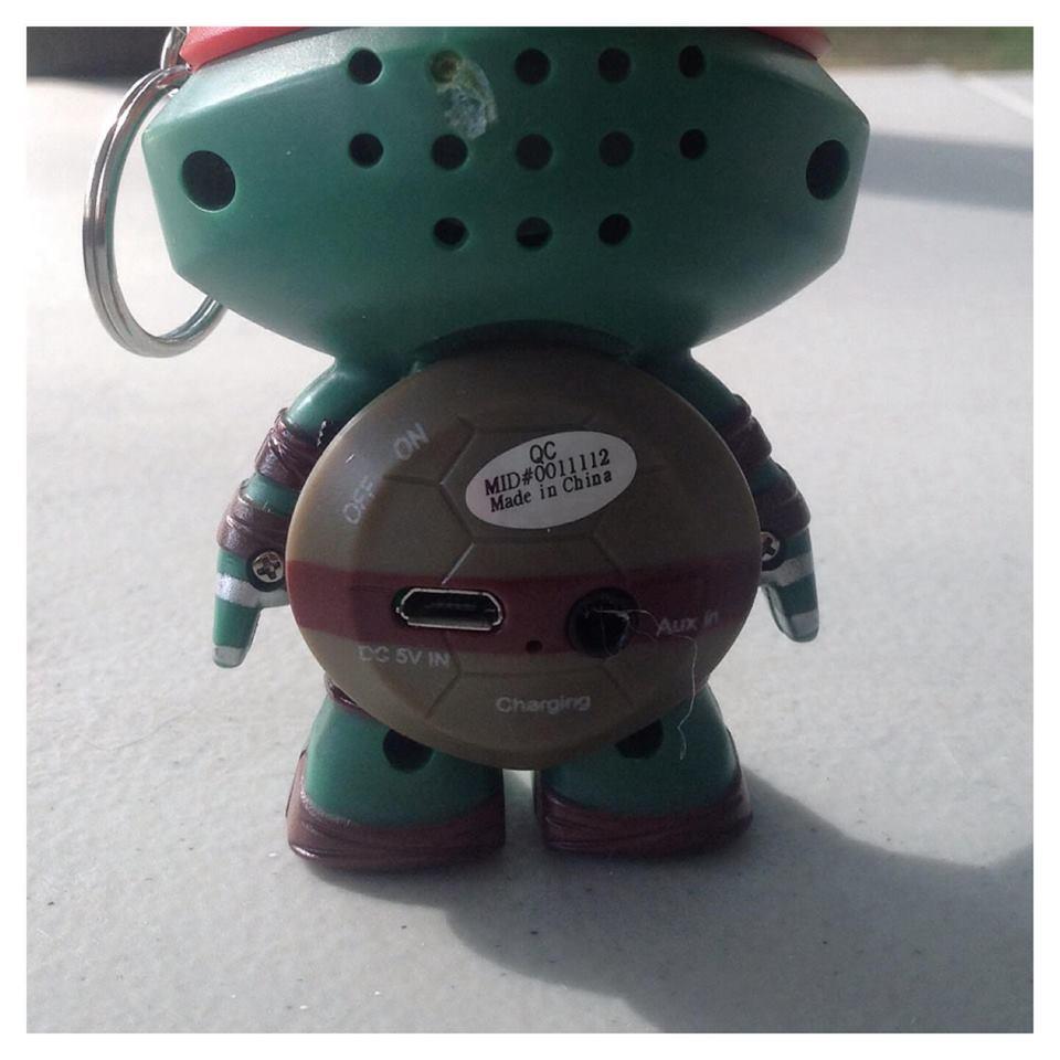 Teenage Mutant Ninja Turtles Portable Speaker