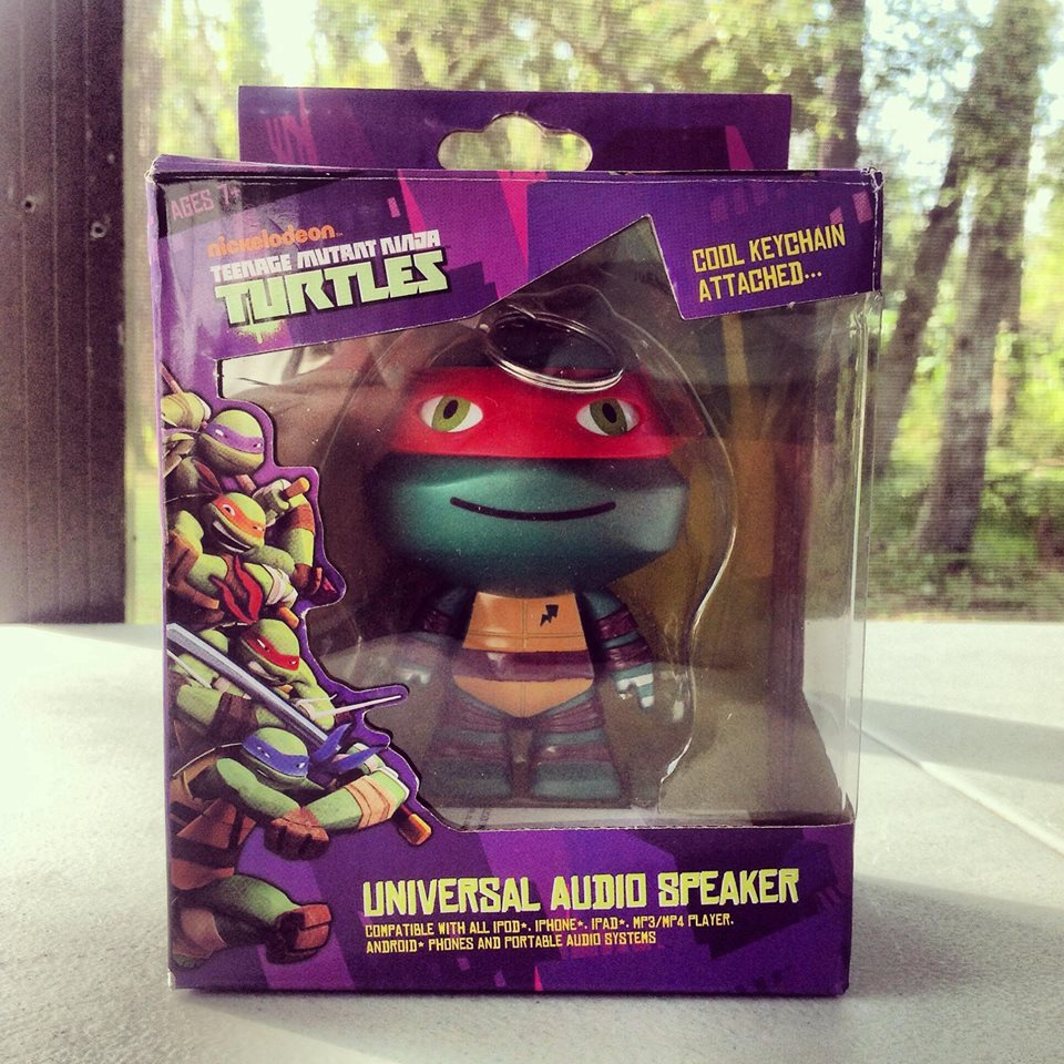 Teenage Mutant Ninja Turtles Portable Speaker