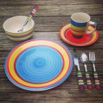 Brylane Home Santa Fe Hand-Painted Dinnerware Review