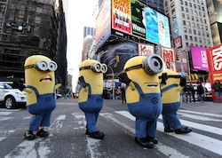 Minion Madness Sweeps over Manhattan