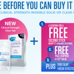 Secret Clinical Strength – Special Promotion
