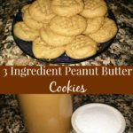 Easiest Peanut Butter Cookies