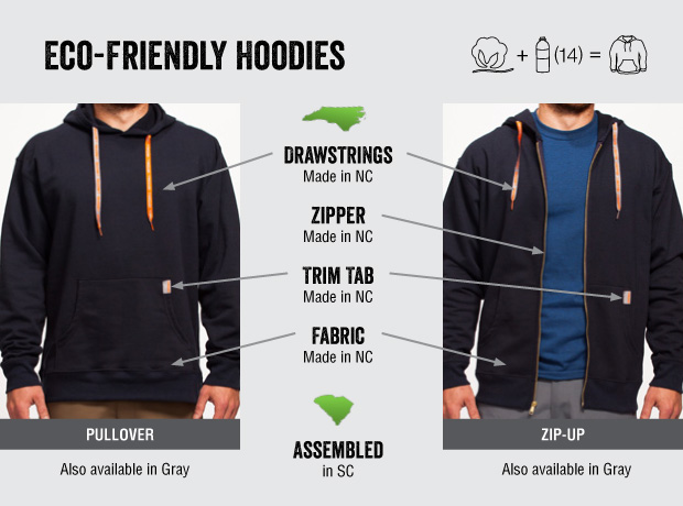 Eco Friendly Hoodie By DirtBall