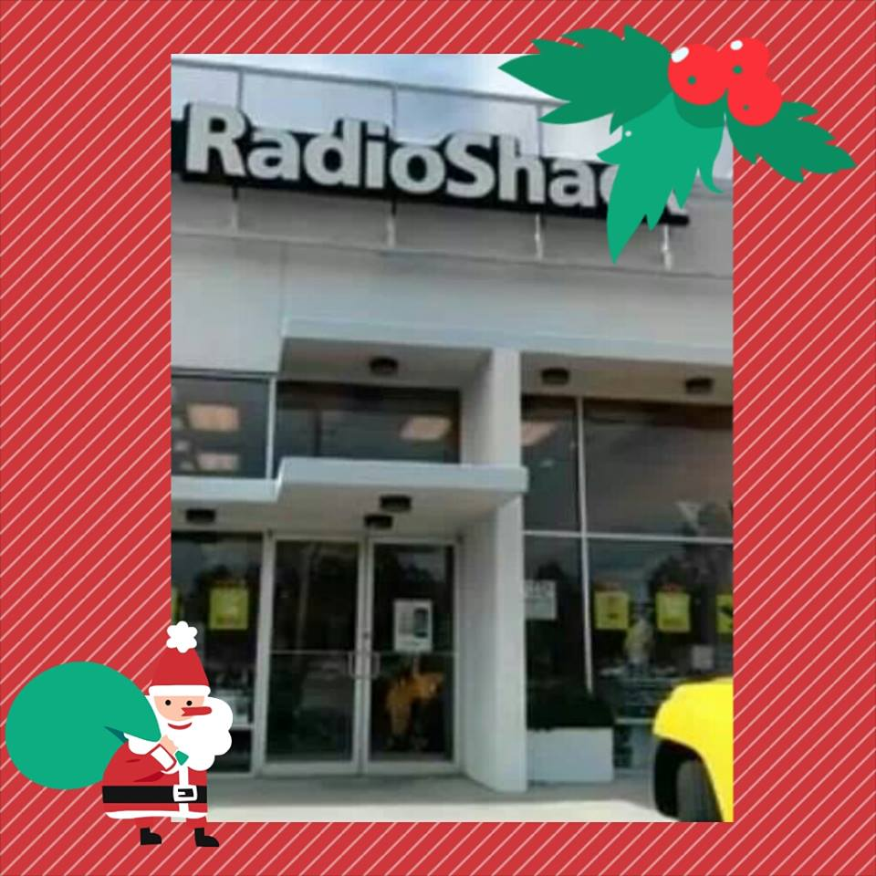 Holiday Shopping At RadioShack