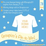 Win big with Groupizo's Pin to Win Design Contest! WINNER