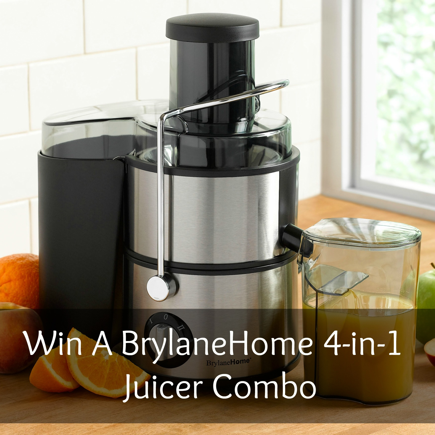 BrylaneHome 4-in-1 Juicer Combo Review