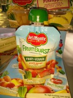 New Del Monte Fruit Burst Squeezers