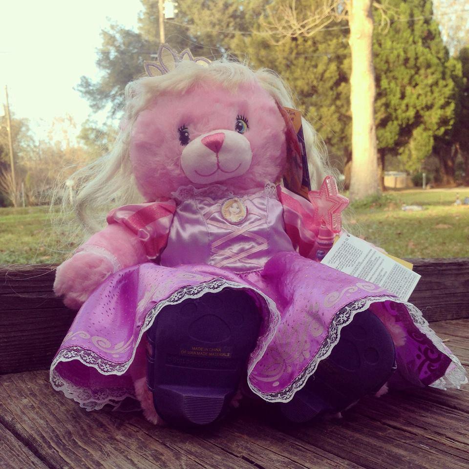 Disney Princess Bear Rapunzel - Build A Bear Workshop
