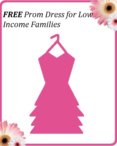 Free Prom Dresses For Low Income Families