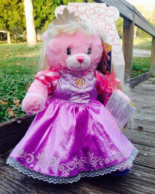 Disney Princess Bear Rapunzel - Build A Bear Workshop