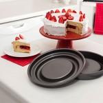 Mrs. Fields Fill N Flip Locking Layer Cake Set Round Giveaway