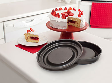 Mrs. Fields Fill N Flip Locking Layer Cake Set Round