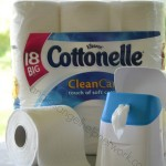 Cottonelle Flushable Cleansing Cloths and Clean Care