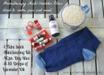 How to Make an Aromatherapy Neck and Shoulder Rice Pillow