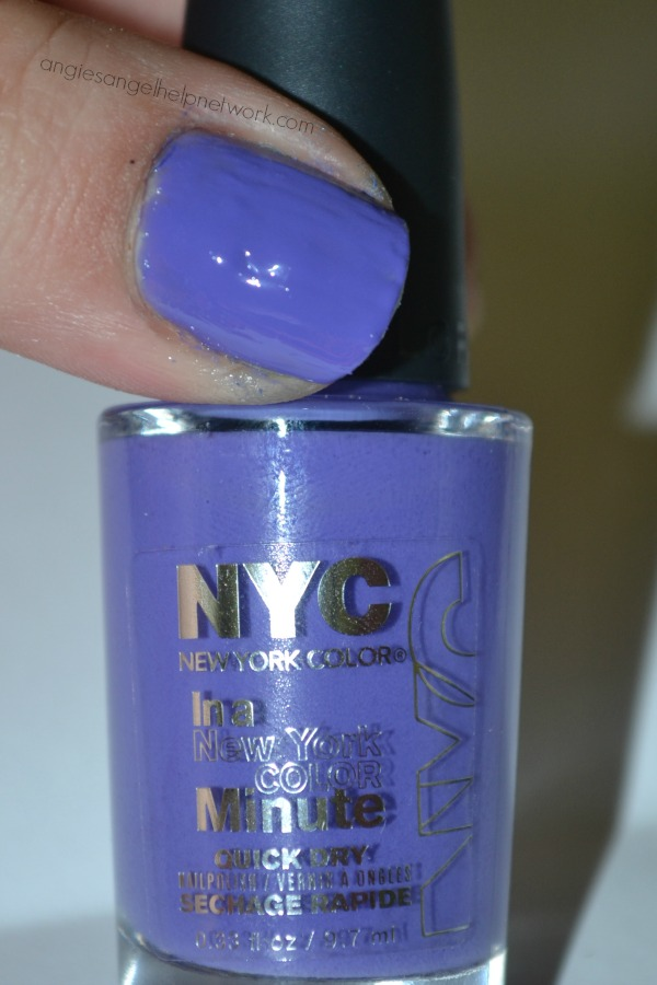 In A New York Color Minute Quick Dry Nail Polish
