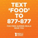 Text To Find Free Summer Meal Sites For Kids And Teens In Your Neighborhood