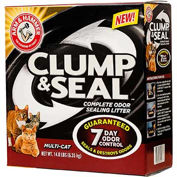 New Arm & Hammer Clump & Seal Clumping Cat Litter Is a Hit!