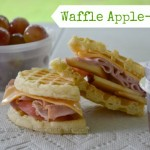 Give the Kids a Waffle Apple-Wich for Breakfast – Recipe #CookingUpGood