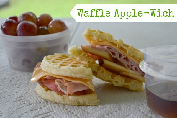 Give the Kids an Waffle Apple-Wich for Breakfast - Recipe