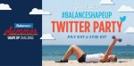 Summer Shape Up Twitter Chat this Thursday