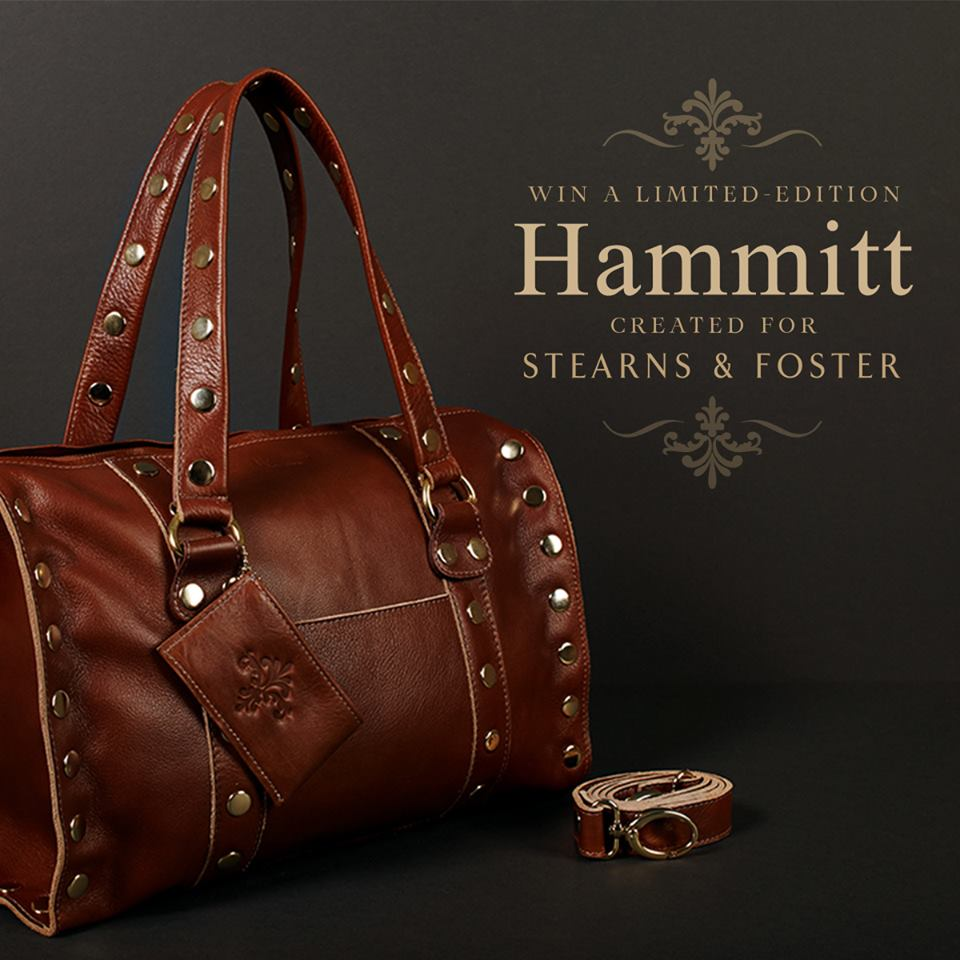 Stearns & Foster Hammitt Handbag Giveaway!