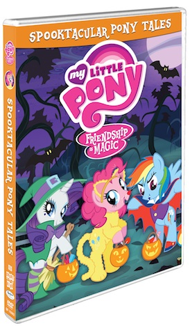 My Little Pony-Friendship is Magic: Spooktacular Pony Tales DVD Review