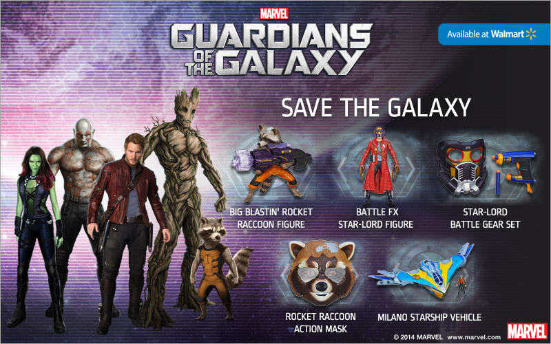 Guardians of the Galaxy $25 Walmart Gift Card Giveaway!