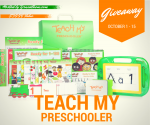 Teach My Preschooler Learning Kit Is The Perfect Gift!
