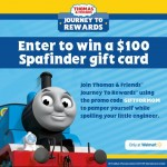 Thomas & Friends Journey To Rewards Spa Finder Gift Card Giveaway