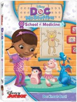 Doc McStuffin's School of Medicine DVD Review
