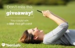 $50 Amazon Gift Card Giveaway From Teen Safe!