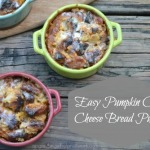 Easy Pumpkin Cream Cheese Bread Pudding