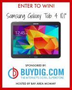 Samsung Galaxy Tab 4 10.1″ Giveaway