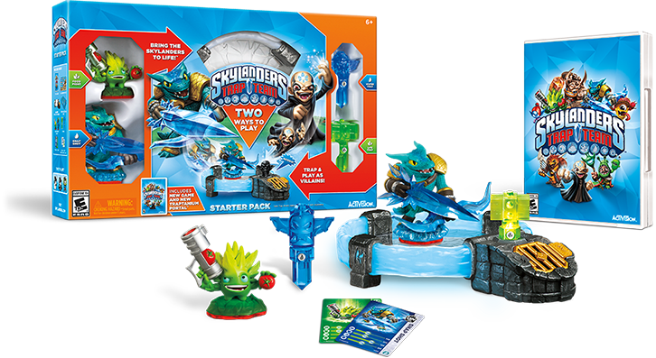 Skylanders Trap Team Starter Pack Review