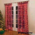 Brylane Homes Pre-Lit Curtain Panels Are The Perfect Decor This Holiday!