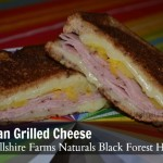 Hawaiian Grilled Cheese Recipe Using #HillshireNaturals Black Forest Ham
