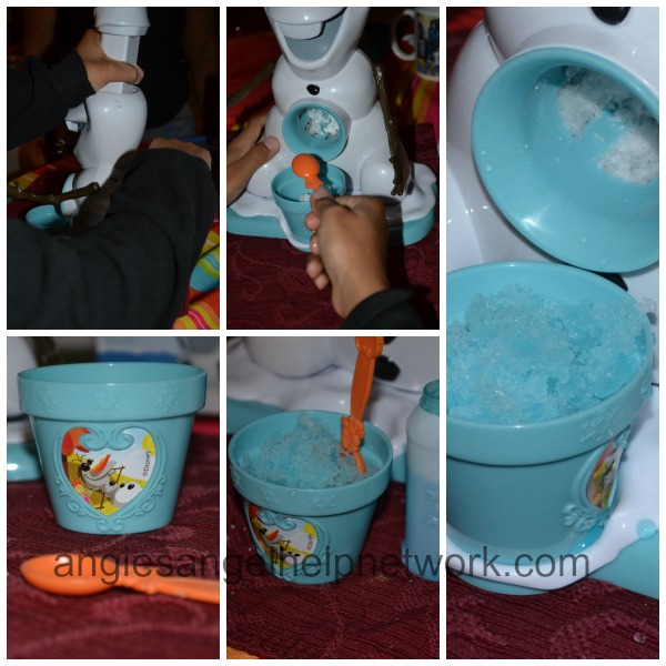 Olaf Snow Cone Maker And Disney's Frozen Olaf-a-Lot Review