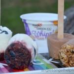 Yoplait Blueberry Cupcake & Chocolate Coconut Pops