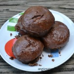 Chocolate Banana Protein Muffins