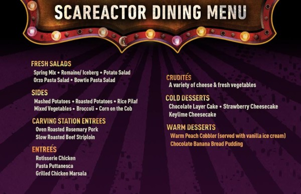 Scareactor Dining Experience