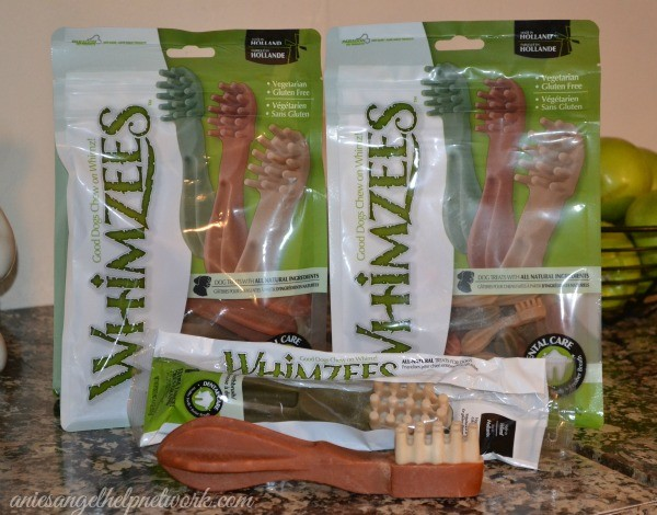 My Furry Kids LOVE Whimzees Dental Chews