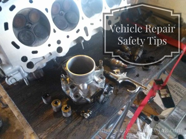 Vehicle Repair Safety Tips