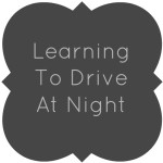 Learning To Drive At Night